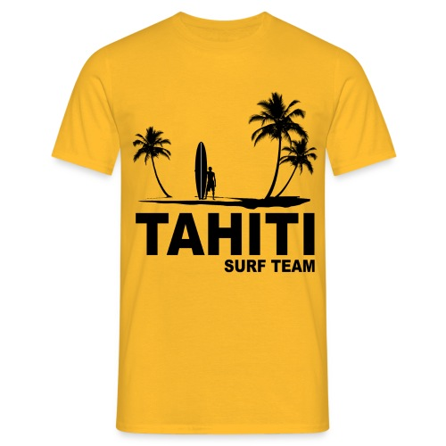 Tahiti surf team - Men's T-Shirt