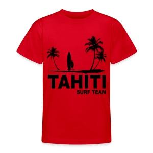 Tahiti surf team - Teenage T-shirt