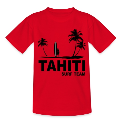 Tahiti surf team - Teenage T-shirt
