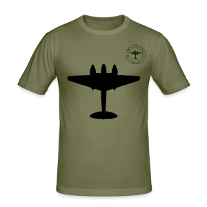 Mosquito Silhouette Slim-Fit T-Shirt - Khaki - Men's Slim Fit T-Shirt