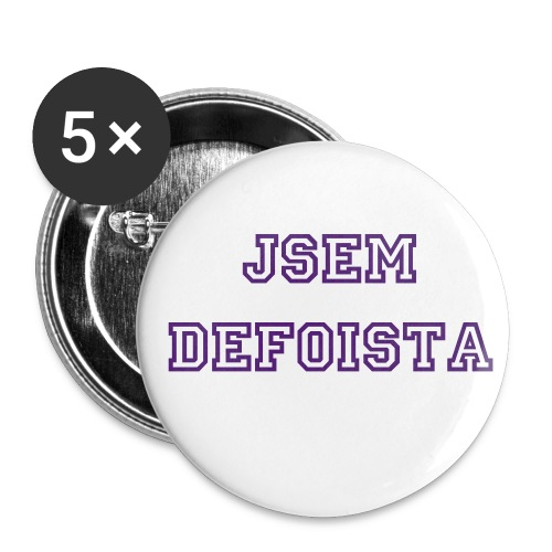 t-shirt defoista - Buttons small 25 mm