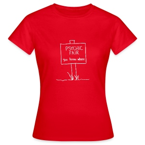 psychic fair (woman) - Women's T-Shirt