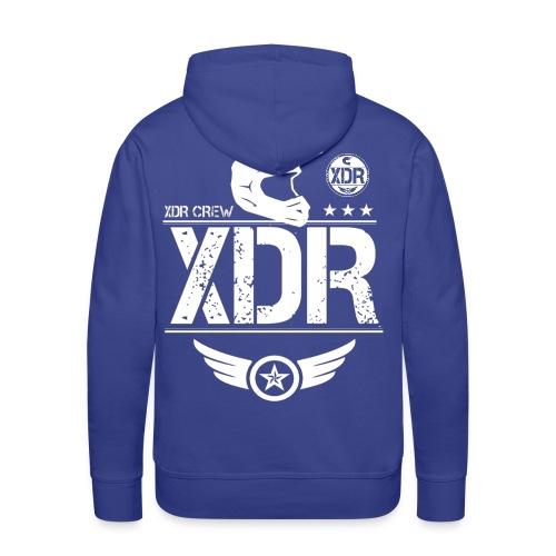 XDR CREW HOODIE (ROYAL BLUE) - Men's Premium Hoodie