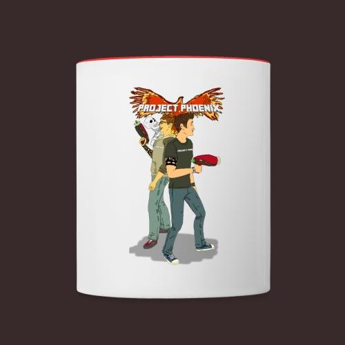 The Gang Mug - Contrasting Mug