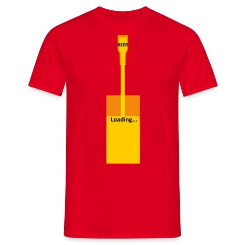 Beer Loading T-Shirt - Men's T-Shirt