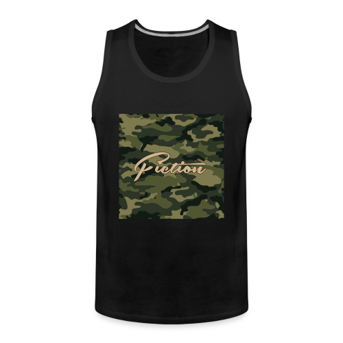 Fiction Camo Tank Top Mens  - Men's Premium Tank Top