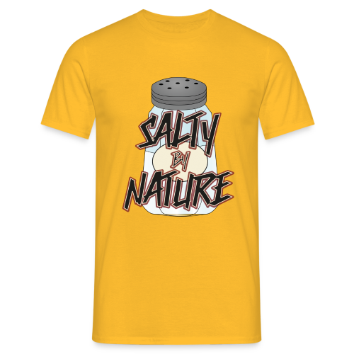 Salty by Nature - Shirt - Männer T-Shirt