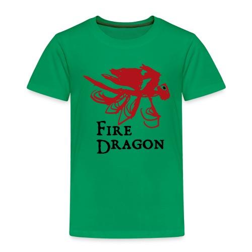 Fire Dragon - Premium-T-shirt barn