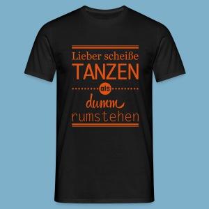 Tanz Shirt - Männer T-Shirt