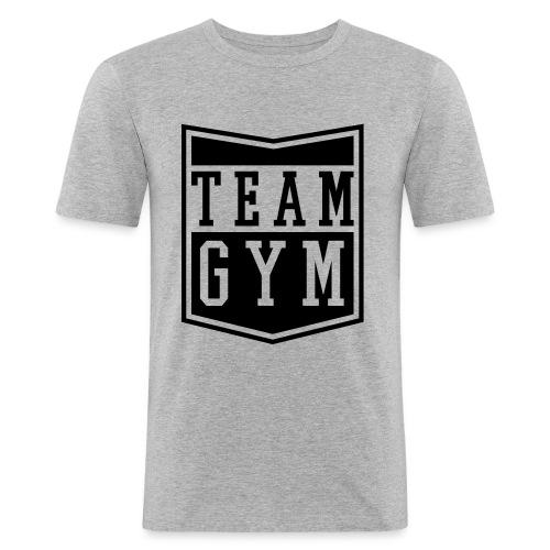 Team GYM - Männer Slim Fit T-Shirt