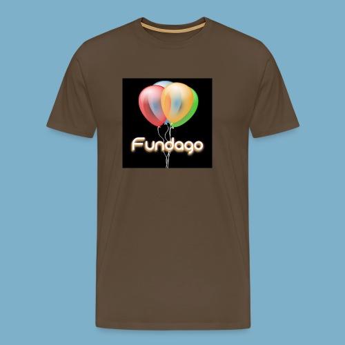 Fundago Ballon Motive - Männer Premium T-Shirt