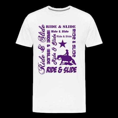 Ride & Slide - Männer Premium T-Shirt