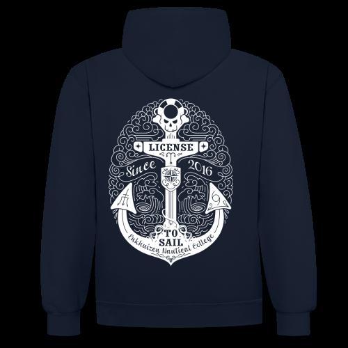 Contrast hoodie m/v - EZS 2016 - Contrast hoodie