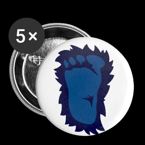 FootButtons - 5 Pack - Buttons medium 32 mm