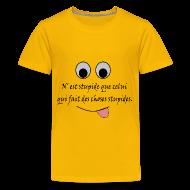 Tee shirts ~ T-shirt Premium Ado ~ Numéro de l'article 105950896