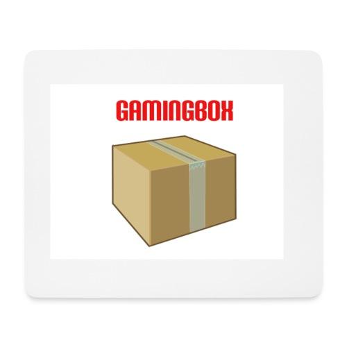 Mauspad in Weiß mit GamingBox Design - Mousepad (Querformat)