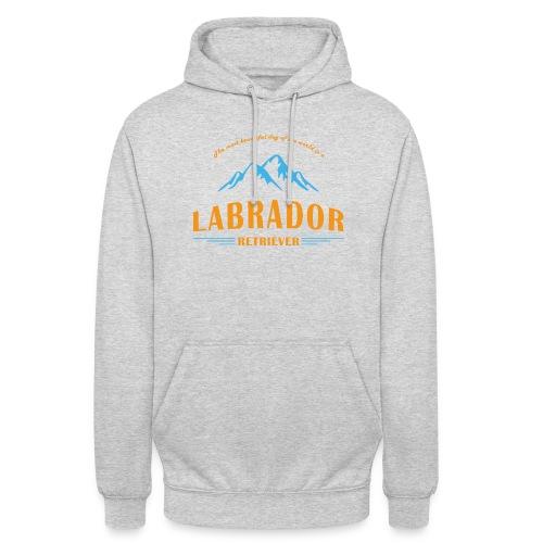 Labrador Mountain Design - Unisex Hoodie