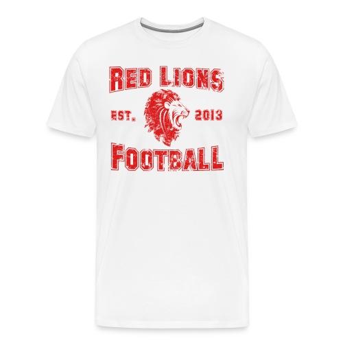 RL Men Football Vintage Shirt - Männer Premium T-Shirt