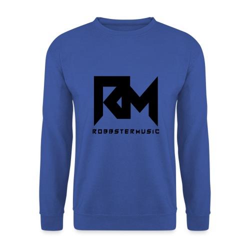 Original RobbsterMusic Black Logo 2 - Männer Pullover