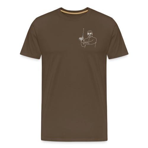 Der Fliegenfischer - Männer Premium T-Shirt