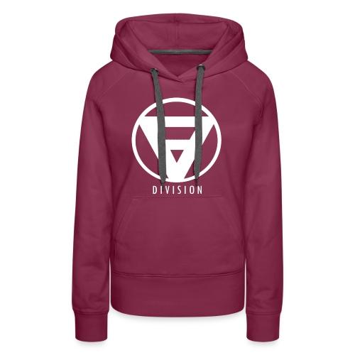 Division Hoodie white Logo for Woman - Frauen Premium Hoodie