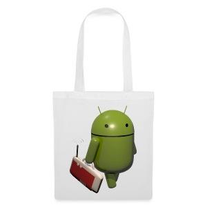 Android Tasche - Stoffbeutel