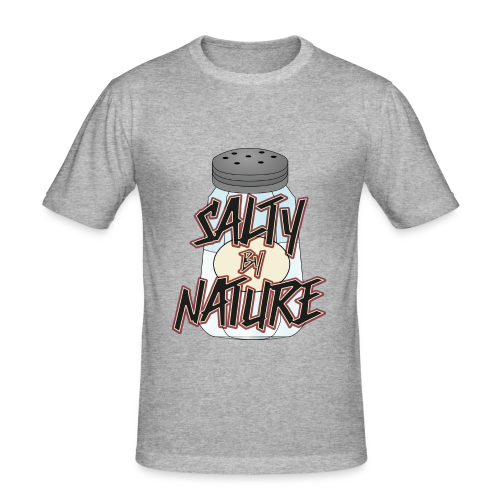 Salty by Nature - Shirt (SlimFit) - Männer Slim Fit T-Shirt