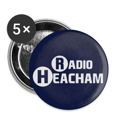 Radio Heacham Bottons - Buttons small 1''/25 mm (5-pack)