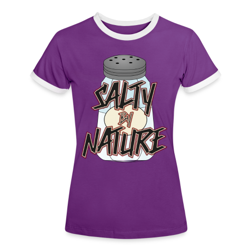 Salty by Nature - Kontrast Shirt (Girls) - Frauen Kontrast-T-Shirt