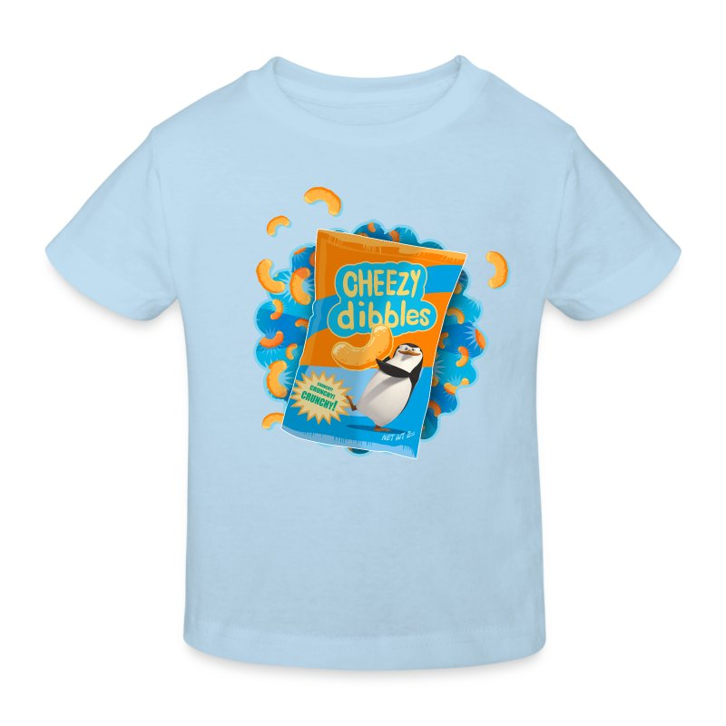 Penguins of Madagascar Cheezy dibbles Kid's T-Shir - Kids' Organic T-shirt
