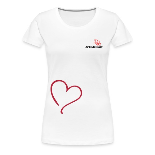 Girls Top Heart - Women's Premium T-Shirt