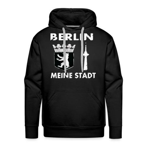 BERLIN MEINE STADT HOODIE - Männer Premium Hoodie