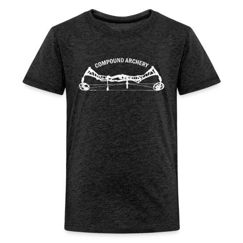 Teenager Premium T-Shirt - Compound Archery - Teenager Premium T-Shirt