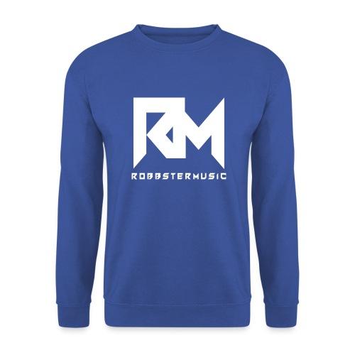RobbsterMusic / White-Logo - Männer Pullover