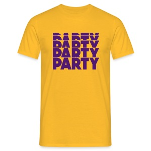 Party Party Party - Männer T-Shirt
