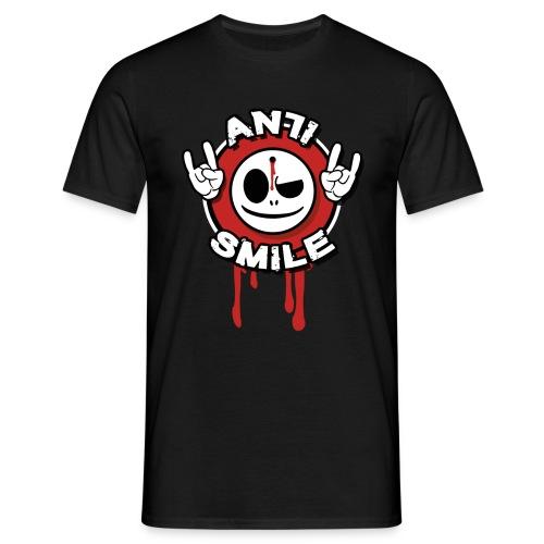 AntiSmile - Shirt - Männer T-Shirt