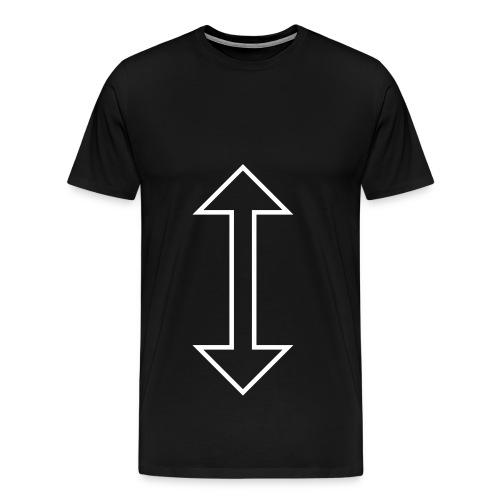 Arrow Mens T-shirt - Men's Premium T-Shirt
