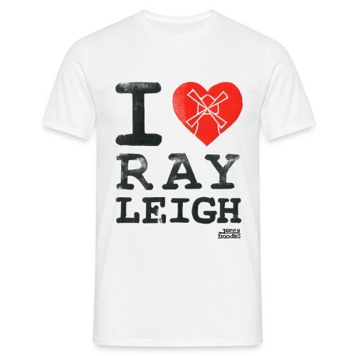 I Love Rayleigh - Men's T-Shirt