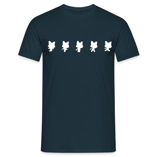 Running Cat: Woman T-shirt - Men's T-Shirt