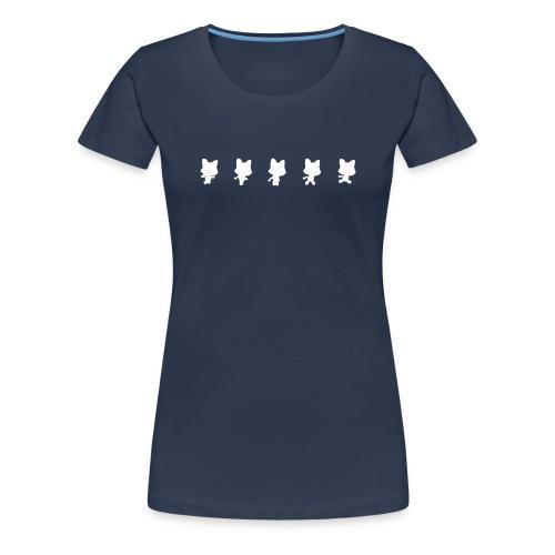 Running Cat: Woman Premium - Women's Premium T-Shirt