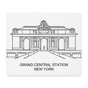 Grand Central Station New York - Mousepad (Querformat)