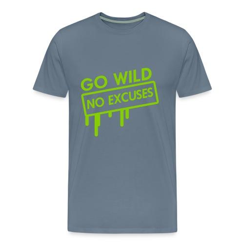 Go Wild!!! - Männer Premium T-Shirt