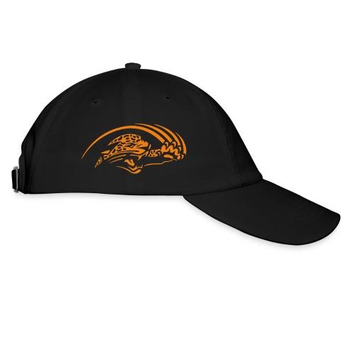 Casquette noire logo Jaguars orange - Casquette classique