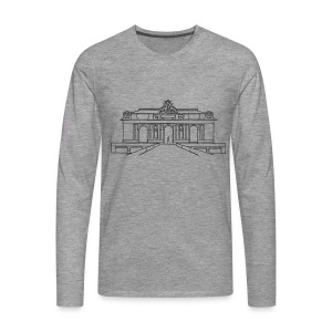 Grand Central Station New York - Männer Premium Langarmshirt