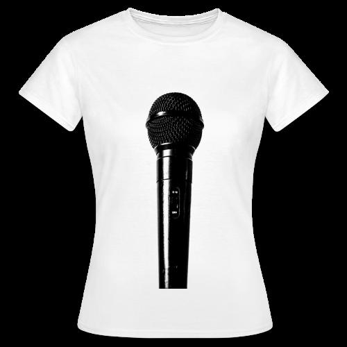 Mic3 Frontpiece W Shirt Girl - Frauen T-Shirt
