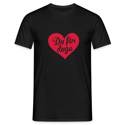 Ekte kjærlighet - T-skjorte for menn