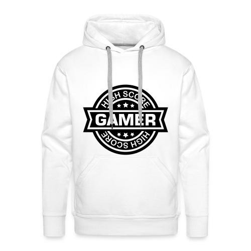 geek sweat - Sweat-shirt à capuche Premium pour hommes