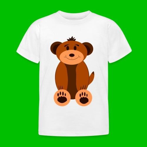 Teddybären-Shirt, kurzarm - Kinder T-Shirt