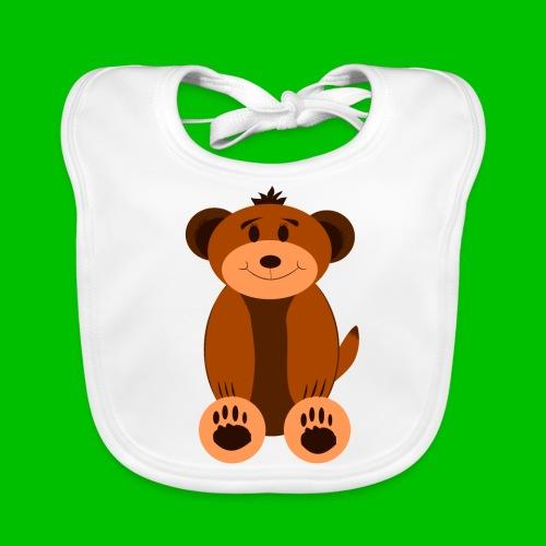 Teddybären-Lätzchen - Baby Bio-Lätzchen