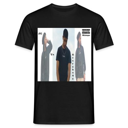 JG VS EVERYBODY COVER  - Mannen T-shirt